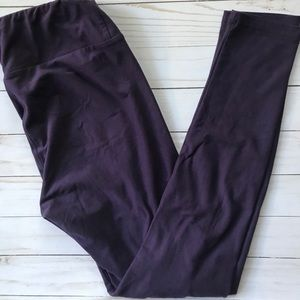 GUC LuLaRoe Eggplant Leggings One Size